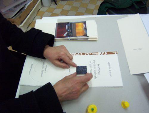Création de carnets