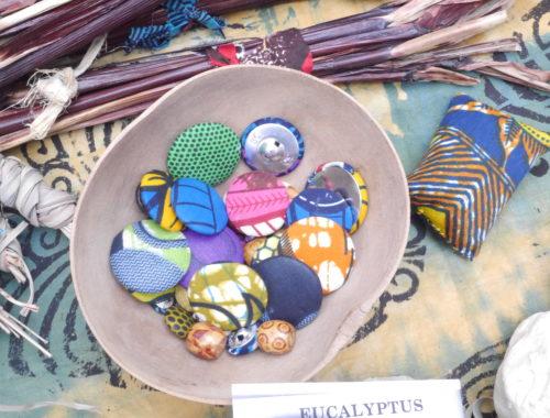 Boutons-tissu de Ouidah
