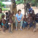 Enfants au village